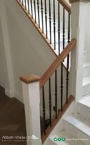 Oak Banister Makeover Model Staircase Best Carpet Stairs Ideas On Pinterest Striped