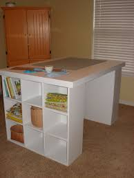 Diy Craft Desk With Storage by Chestnut Sparrow Cutting Table With Storage You Can Make One Too