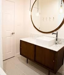 cute storage side sweet mirror above unusual white wahbowl side