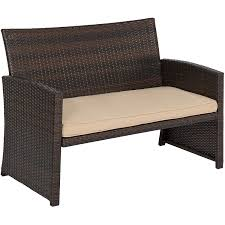 Best Wicker Patio Furniture - amazon com best choice products 4pc wicker outdoor patio
