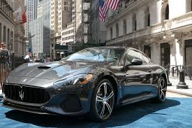 all black maserati 2018 maserati granturismo mc debuts at the new york stock exchange