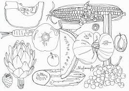 fruits and vegetables coloring book coloring pages coloring pages
