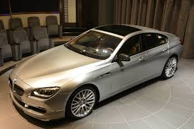 bmw 6 series gran coupe pearl edition in pure metal silver