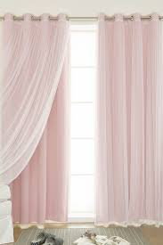 Best Home Fashion Curtains Pink Sheer Curtains Bedroom Pink Sheer Curtain With Valance Best