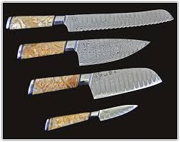 japanese damascus kitchen knives japanese damascus steel knives home design ideas