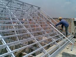harga dan cara hitung rangka atap rumah dan kanopi baja ringan