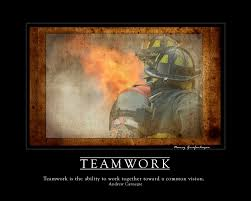 teamwork firefighter inspirational fine art print artwork home