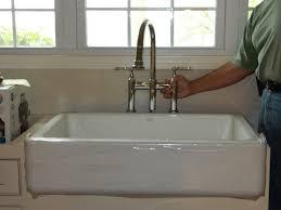 kohler faucets kitchen sink room for faucet holes kohler whitehaven sink