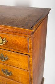 Tiger Maple Furniture Maple Chippendale Tall Chest