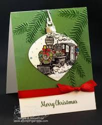 stin up magic ornament card