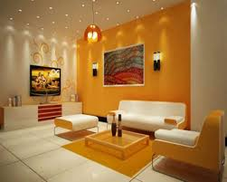 Livingroom Walls by Alluring 40 Living Room With Orange Wall Accent Decorating Design