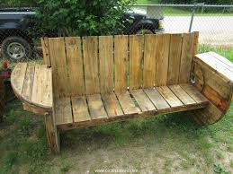 Wood Lawn Bench Plans by Wooden Pallet Sitting Bench Plans Pallet Wood Projects