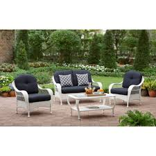 Walmart Patio Furniture In Store - better homes and gardens azalea ridge 4 piece patio conversation