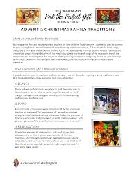 discover advent and traditions find the gift