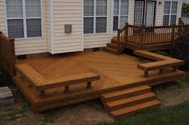 deck bench plans deck designs ideas cody house pinterest