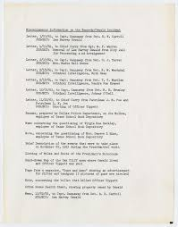 Where Was Jfk Shot Map Inventory Of Documents Relating To President John F Kennedy And