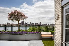 central park west penthouse terrace new york decks