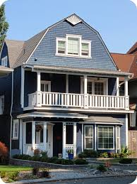 Dutch Colonial Architecture Blue Dutch Colonial House North Historic District Of Tacom U2026 Flickr
