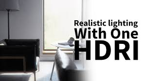 Vray Hdri Interior Cinema 4d U0026 Vray Tutorial Realistic Lighting With One Light Only