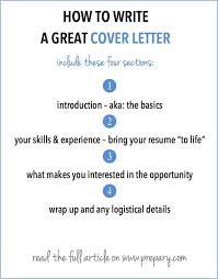 how to write a cover letter letters and cover letters