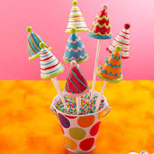 themed cake pops birthday cake pops birthday party hat cake pops cake pops
