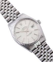 silver rolex bracelet images Buy rolex oyster perpetual datejust 16030 watch buy vintage rolex jpg