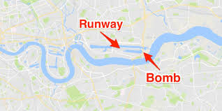 London Airports Map London City Airport Closed After World War Ii Bomb Found Near