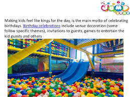 kids birthday party venues kids play area in hyderabad kids birthday party venues