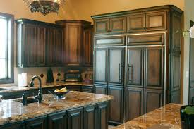 painted and stained kitchen cabinets wood stain kitchen cabinets kitchen design ideas