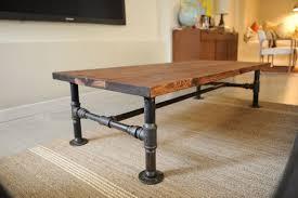 Pipe Desk Diy Diy Industrial Coffee Table Priscilla Locke