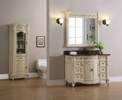 Xylem Vanities Windsor 48 Inch Antique Bisque Bathroom Vanity