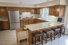 kitchen colors with medium brown cabinets top 5 light color granite countertops marble