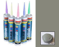 silver grey premium silicone caulk mastic sealant ral 7001 amazon