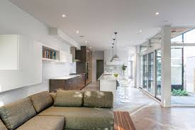stylish scandinavian room design in a contemporary house canada