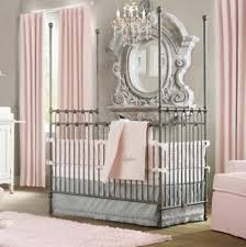 Grey And Pink Nursery Decor by Soft Grey Paint Wall Color Vintage Modern Bedroom Ideas With Black