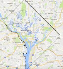Washington Dc Ward Map by New D C Zoning Regulations Take Effect Today