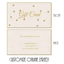 printable hotel gift certificates free printable gift card templates that can be customized online