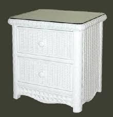 side table white wicker bedroom furniture pier one white wicker