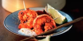 comment cuisiner les gambas gambas tandoori facile recette sur cuisine actuelle