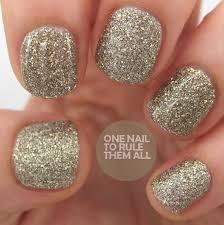 nail art style barry m autumn winter 2013 royal glitter nail
