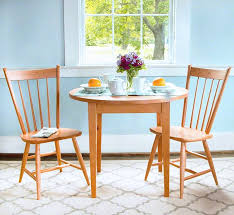 Shaker Style Dining Room Furniture Dining Tables For Small Spaces