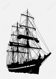 old sailing ships clipart old english pencil and in color old