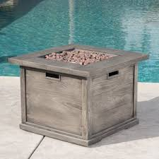 Gas Firepit Tables Gas Firepit Table Wayfair