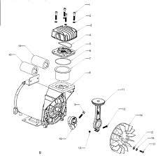 craftsman air compressor motor 2424