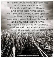 quotes for a lost loved one to be remembered best quote 2018