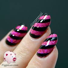 piggieluv sparkly nails with girly bits razzle dazzle and nail vinyls