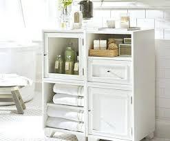 Bathroom Storage Shelves Impressive Bathroom Floor Cabinet Thomasmoorehomes Intended For