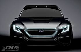 subaru viziv 2018 subaru viziv performance concept tease looks like a preview of