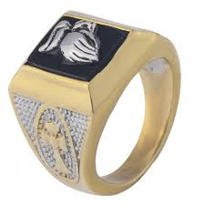 aliexpress buy gents rings new design yellow gold aliexpress buy men s gold color square black onyx prey