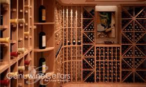 commercial wine cellar built in wooden custom elite kit